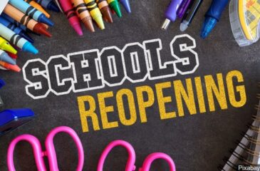 School Reopening Graphic